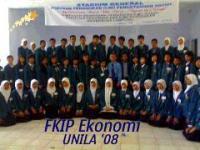 Pendidikan Ekonomi 2008 masih unyu-unyu